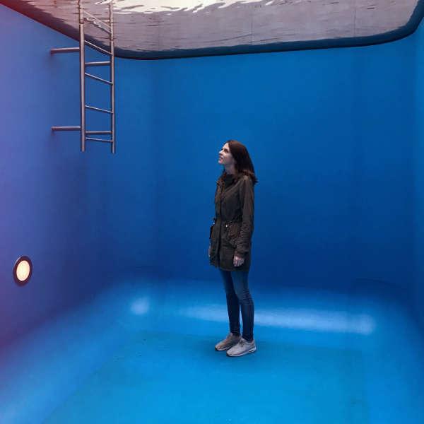 Swimming Pool van Leandro Erlich in Museum Voorlinden