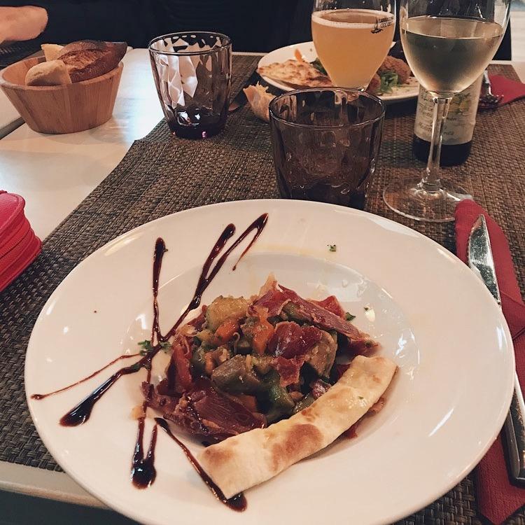 Dinner at La Piccola in Girona