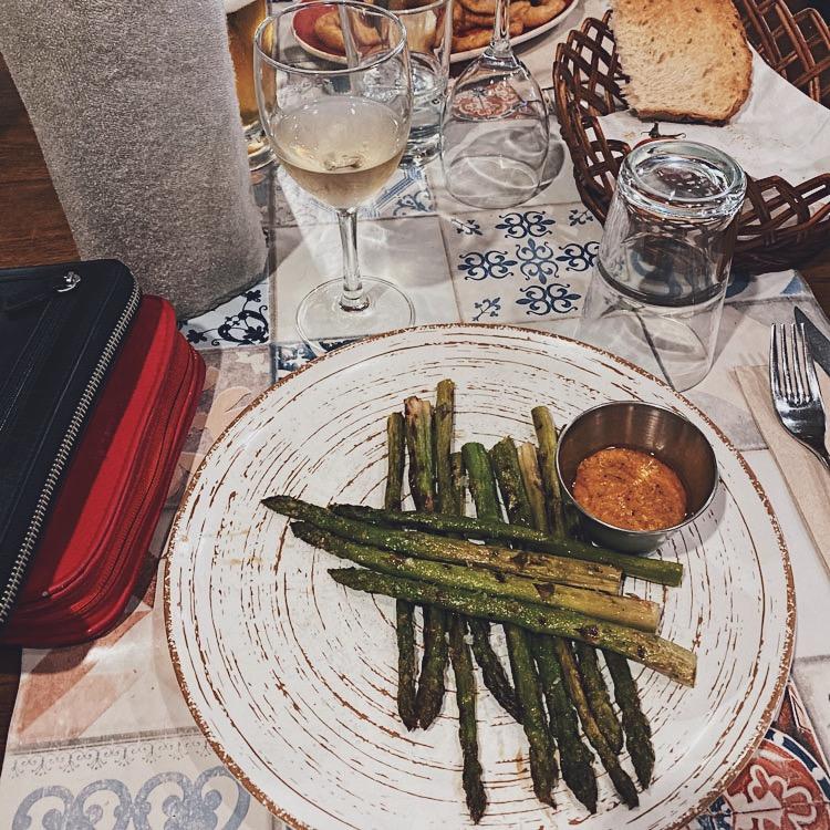 Lunch at L'Argadà in Girona