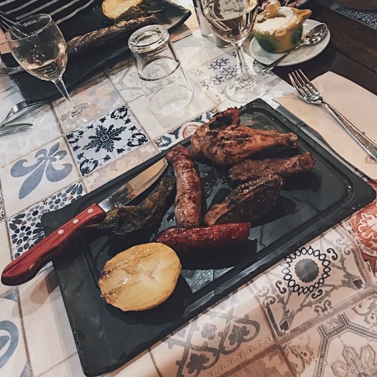 Dinner at L'Argadà in Girona