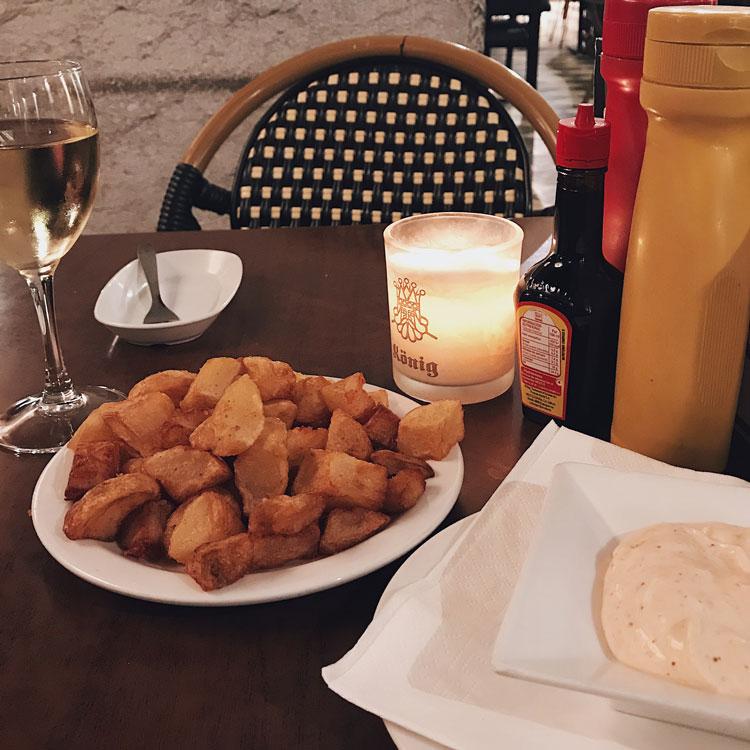 Dinner at Konig in Girona